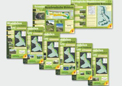 Infoborden Gemeente Boxmeer