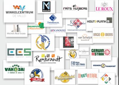 Logo's door CornReclame