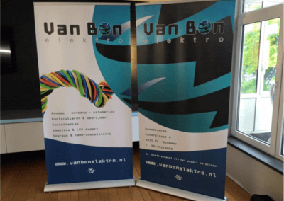 POP-UP banner van Bon Elektro