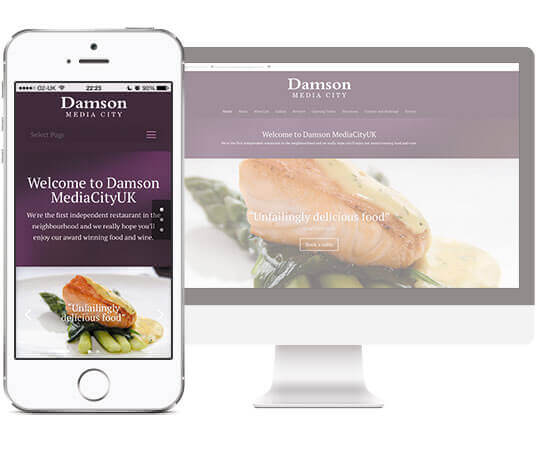 Webdesign, CornReclame